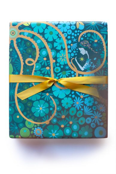 diving board gift wrap
