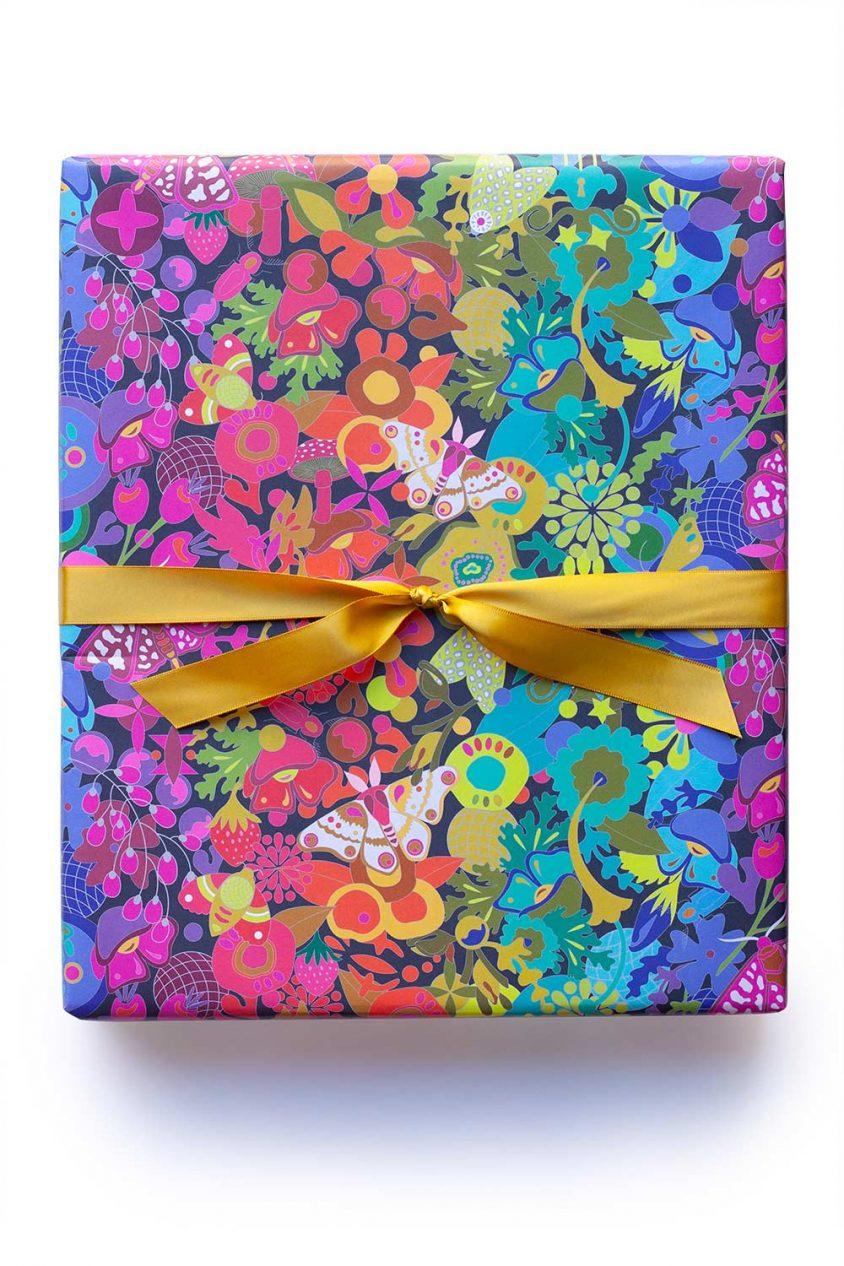 ex libris gift wrap