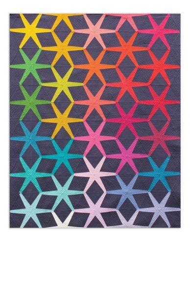 solistice quilt in kaleidoscope