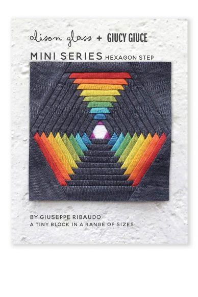 mini series hexagon step quilt pattern