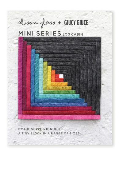 mini series log cabin quilt pattern