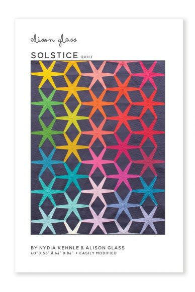 solstice quilt pattern