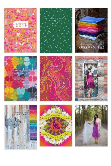 catalog set of 9