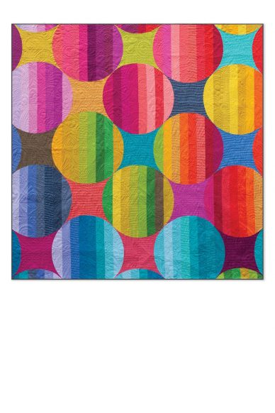 oriana quilt in kaleidoscope and mariner cloth