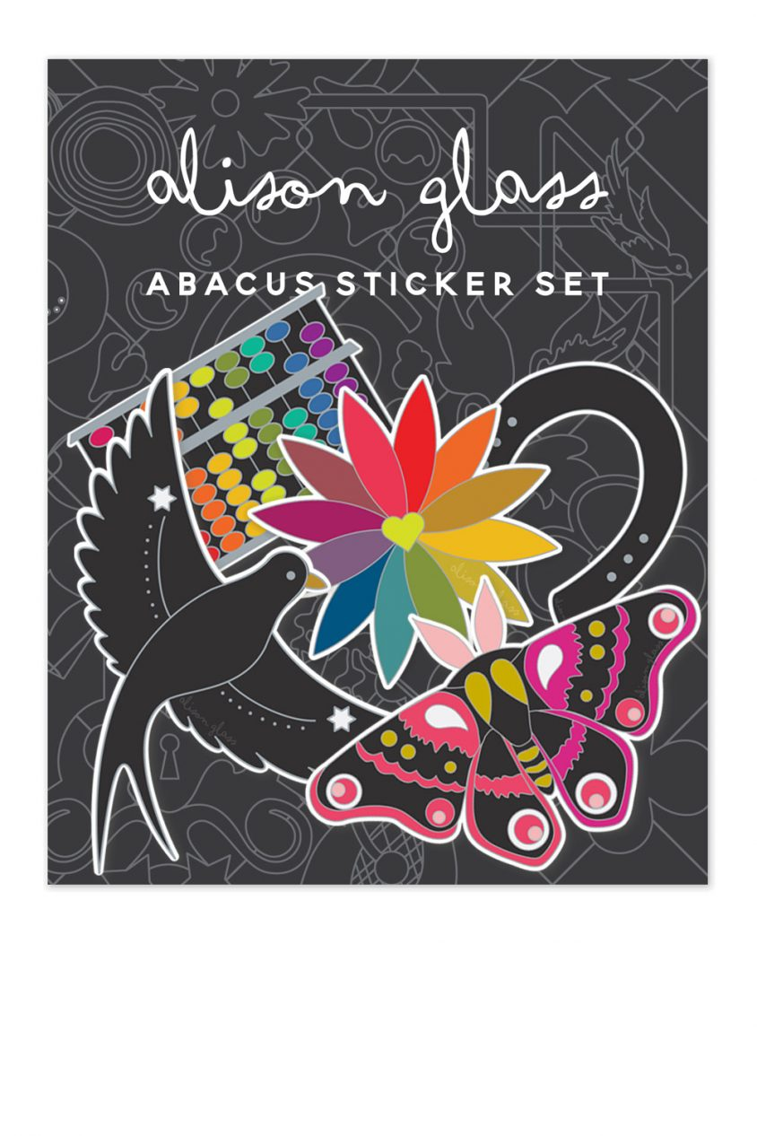 abacus sticker pack
