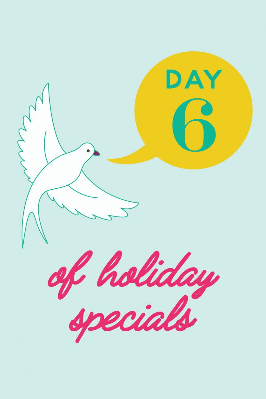 day 6 alison glass holiday special
