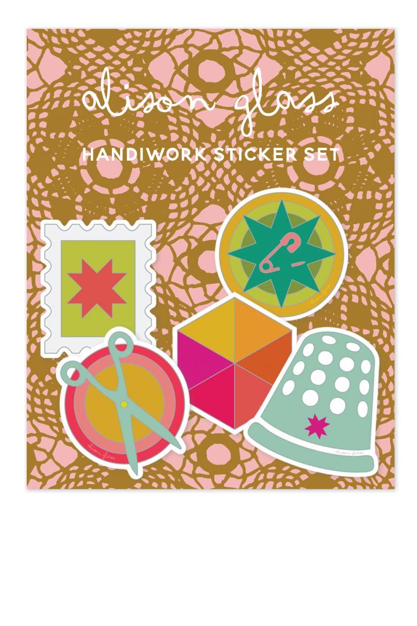 handiwork sticker pack