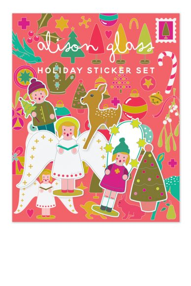 holiday sticker pack
