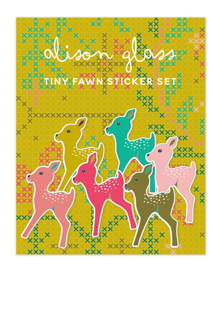 fawn sticker pack