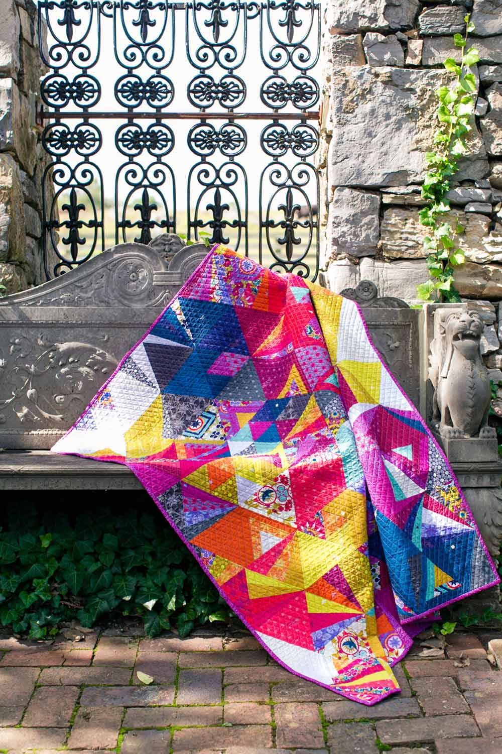 tessellation quilt in seventy six and insignia
