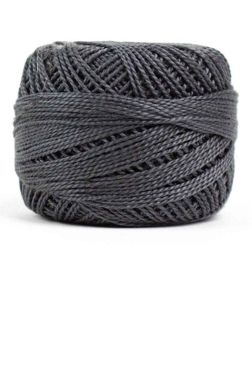 eleganza perle cotton in charcoal