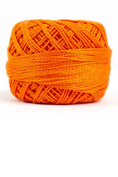 eleganza perle cotton in pumpkin
