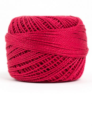 eleganza perle cotton in ruby