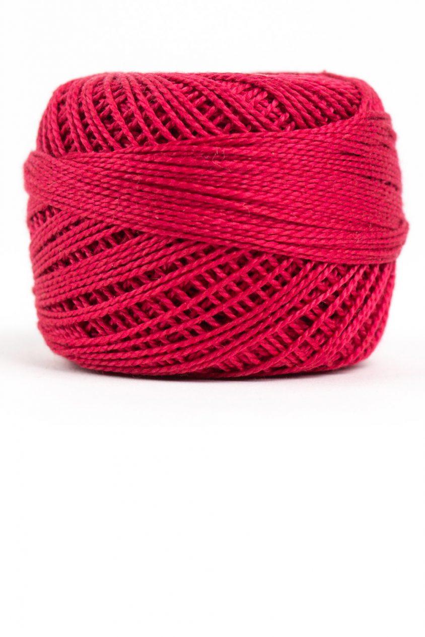 eleganza perle cotton in ruby