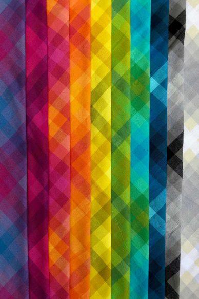 kaleidoscope plaid bundle
