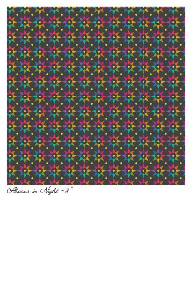 art theory abacus in night yardage