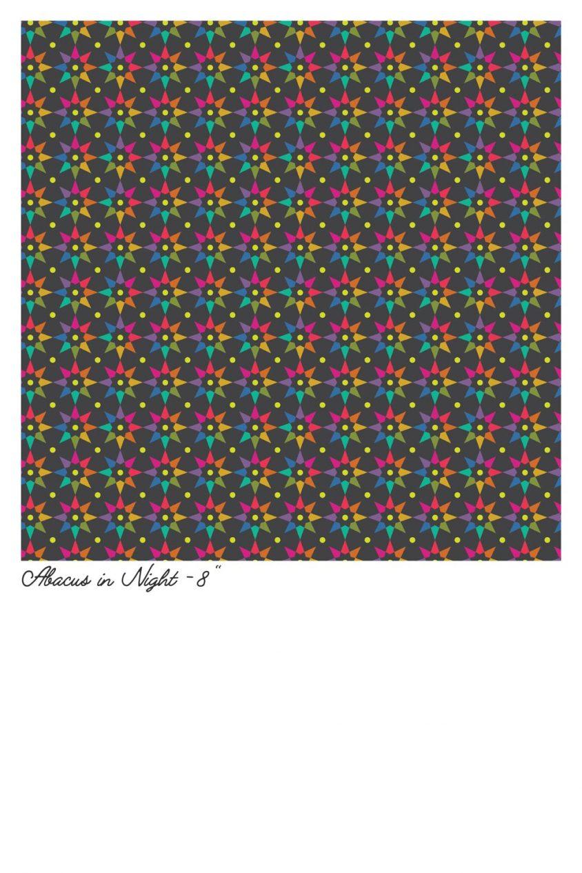 art theory abacus in night yardage