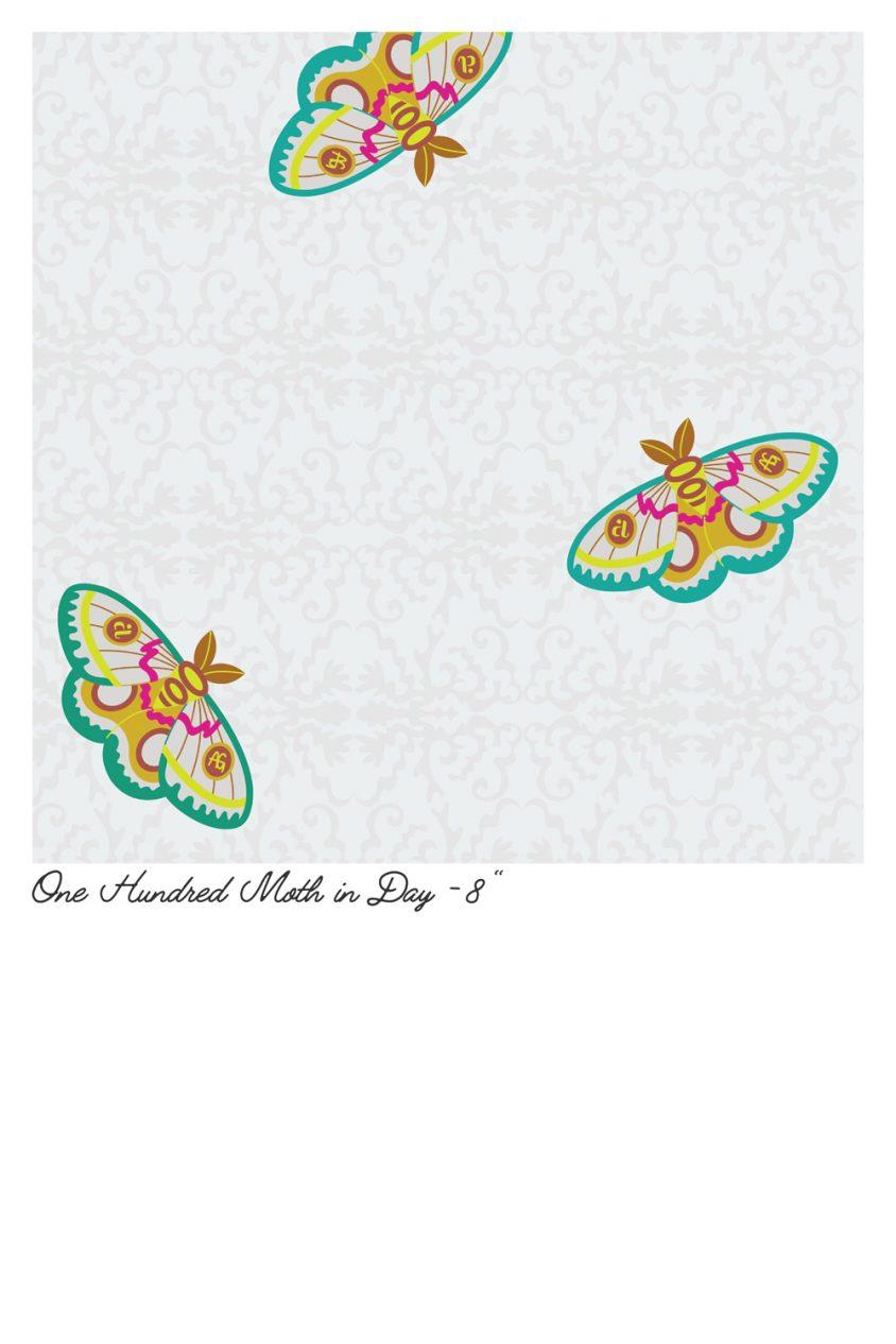 art theory one hunderd moth in day yardage