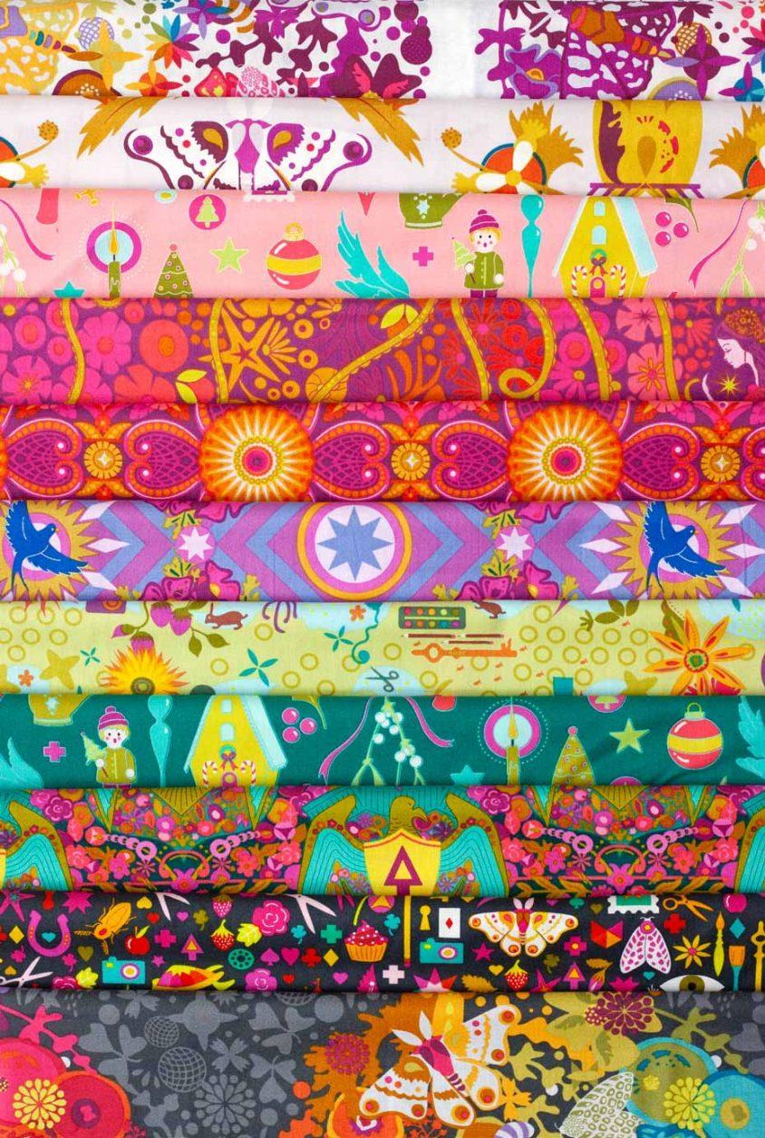 october stitch club journal feature fabric bundle