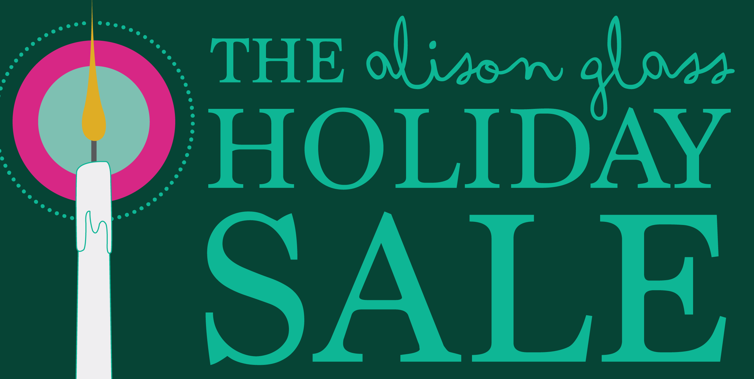 alison glass holiday sale