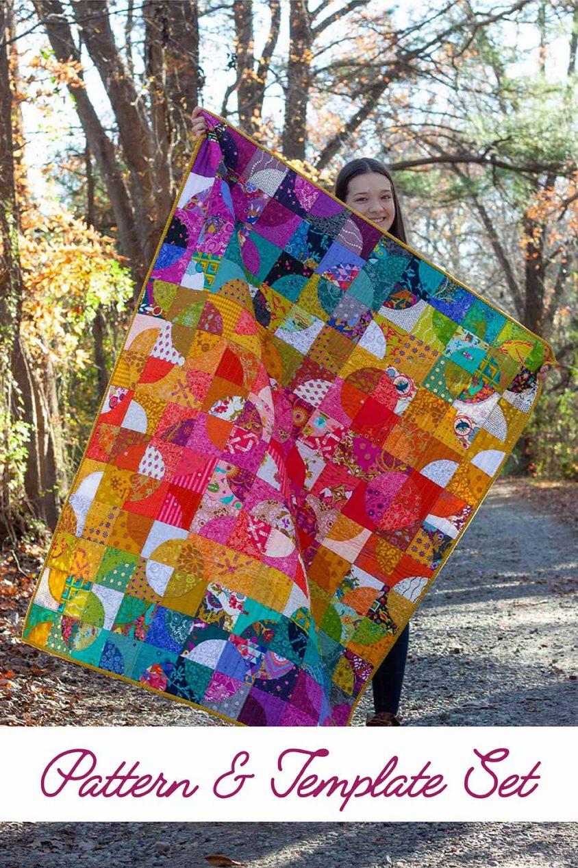 ericas rainbow quarter quilt
