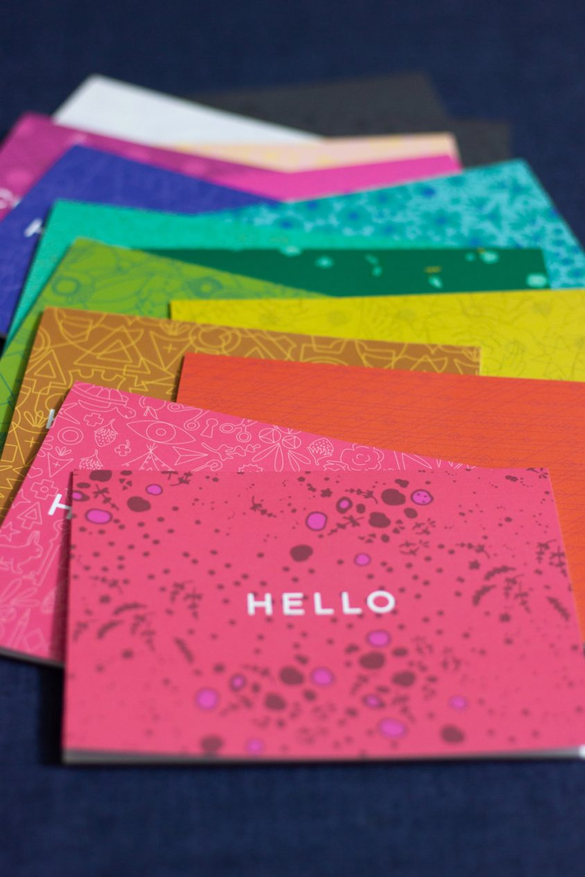 sun print card set