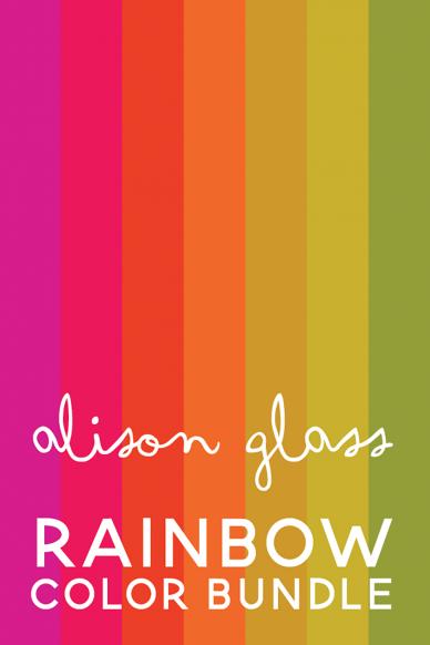2021 rainbow color bundle