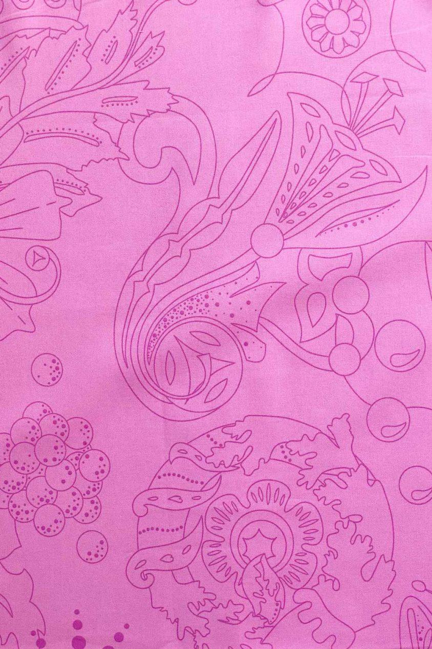 sun print luminance carved in lilac yardage