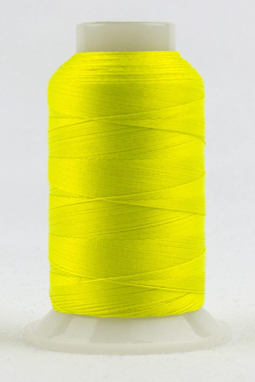 fabulux by wonderfil neon lemon thread