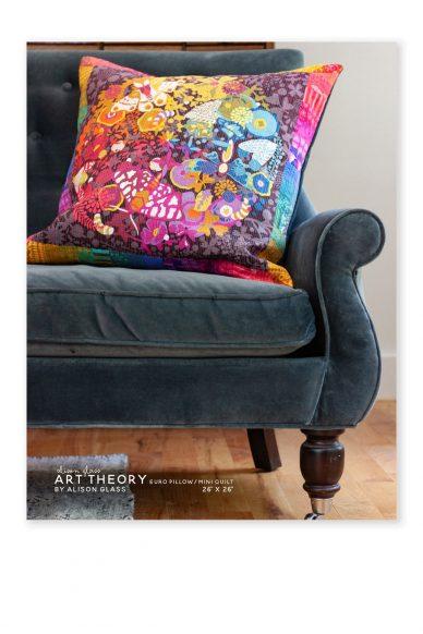 art theory pillow pattern